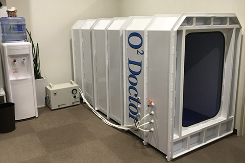 酸素カプセル施術内容