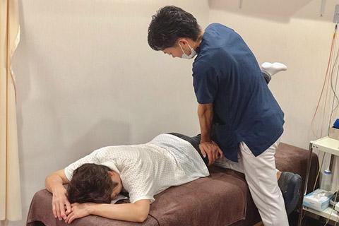 腰痛治療施術内容