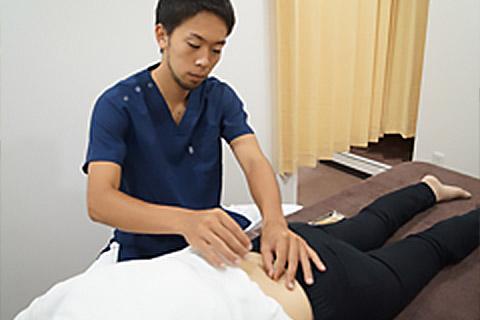 鍼灸治療施術内容